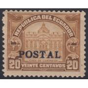 Ecuador 256 1928 Postal MH