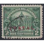 Ecuador 283 1929 Postal Casa de Correos Usado