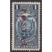Ecuador 284 1929 Fiscal Postal MH