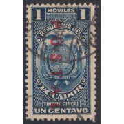 Ecuador 284 1929 Fiscal Postal Usado