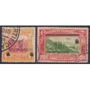 Ecuador 300/01 1933 Tabaco Tobacco Usados