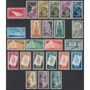 España Spain Año Completo Year Complete 1956 - 1957 MNH
