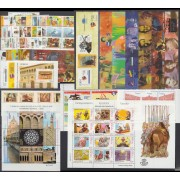 España Spain Año completo Year Complete 2002 Bl.4 MNH