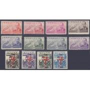 España Spain Año Completo Year Complete 1941 MNH