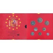 España  Spain  Cartera Oficial Pesetas 1994 Juan Carlos I FNMT