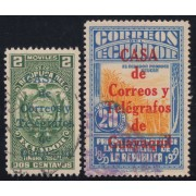 Ecuador 302/03 1934 Fiscales Casa Correos Guayaquil usados