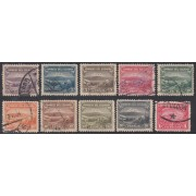 Ecuador 304/13 1934 - 1935 Monte Chimborazo usados