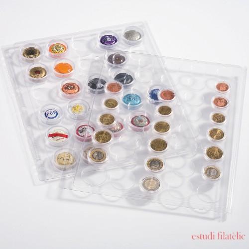 Hojas ENCAP, transparentes para 42 placas de cava y chapas d cerveza 308075