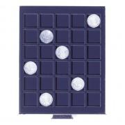 Bandeja para monedas SMART, con 30 divisiones esquinadas de 30 mm Ø