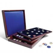 Estuche para monedas VOLTERRA TRIO de Luxe, cada una para 48 monedas