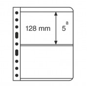 Leuchtturm hojas de plástico VARIO, 2 divisiones, transparente billetes