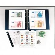 Filabo Álbum NUMIS billetes Skay Azul con Cajetín + 3 hojas
