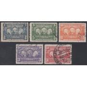 Ecuador 340/44 1936 Cº Misión La Condomine Usados