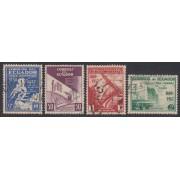Ecuador 365/68 1938 Exposición de el progreso usados
