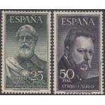 España Spain Nº 1124/25 1953 Legazpi y Sorolla MH