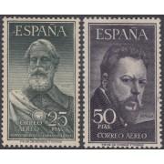 España Spain 1124/25 1953 Legazpi y Sorolla MH