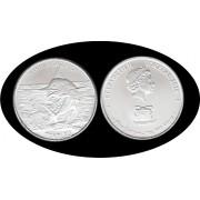 Tokelau 1 Oz onza plata 2016 Hakula Sailfish Pez vela  Ag Silver