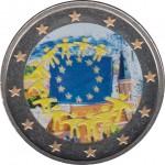 Lituania 2 euros conmemorativos 2015 XXX Aniv. Bandera Europea Color