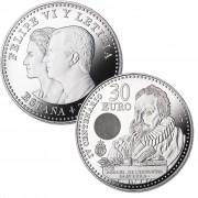 España 2016 30 Euros de plata Miguel de Cervantes