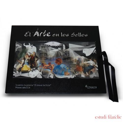 España Colección Grabados El Arte en los Sellos Guernica 2016 Tirada: 400