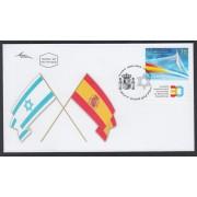 España Spain Emisión conjunta SPD 2016 Israel - España Rel. diplomáticas Banderas Flags