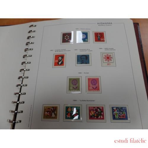 Colleción Collection Alemania Federal Germany 1964 - 2001 MNH