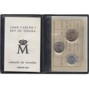España Spain Cartera Oficial Pesetas 1986 Madrid Juan Carlos I FNMT