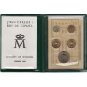 España Spain Cartera Oficial Pesetas 1991 Juan Carlos I FNMT