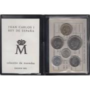 España Spain Cartera Oficial Pesetas 1983 Juan Carlos I FNMT