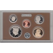 Estados Unidos  USA  2015 Monedas Coins President collecttion Set Proof 5 piezas