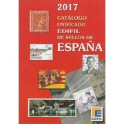 CATÁLOGO CATALOG UNIFICADO EDIFIL 2017 SELLOS DE ESPAÑA