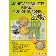 Catálogo Hnos. Guerra Monedas y Billetes España y Unión Europea Ed. 2018