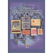 CATÁLOGO EDIFIL SELLOS LOCALES DE LA GUERRA CIVIL ESPAÑOLA TOMO VI 1936 -1939
