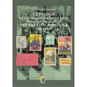 CATÁLOGO EDIFIL SELLOS POLÍTICOS DE LA ZONA NACIONAL GUERRA CIVIL 1936 - 1939