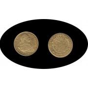 España Spain 2 escudos 1807 Madrid  AI Carol Carlos IIII Oro Gold