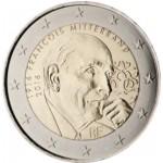Francia 2016 2 € euros conmemorativos François Mitterrand