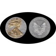 Estados unidos United States Onza de plata y baño oro Ag 1 $ 2016 Liberty
