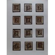 Colección Collection España Estudio de el 6 Cuartos de 1851