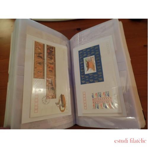 Colección Collection China Sobres de Primer día SPD FDC 1982 - 2003