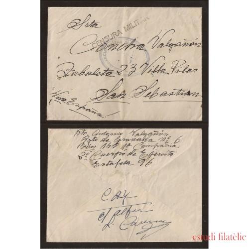 <div><strong>España Carta Granada San Sebastián Franquicia Comandancia</strong></div>