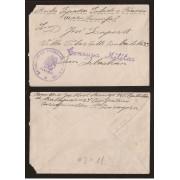 <div><strong>España Carta Garrapinillos San Sebastián Franquicia Militar</strong></div>