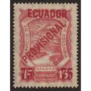 Ecuador A- 2 1928 Aéreo Avión Provisional MH