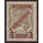 Ecuador A- 3 1928 Aéreo Avión Provisional MH