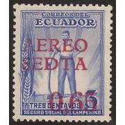 Ecuador A- 66 1938 Aéreo SEDTA 0,65 Seguro Social del Campesino MNH