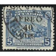 Ecuador A- 142 1945 Aéreo Seguro Social del campesino Usado