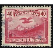 Ecuador A- 168 1946 Servicio Aéreo El Altar Águila Fauna bird