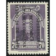 Ecuador A- 199A 1948 Aéreo Conferencia económica Padre Velasco MH