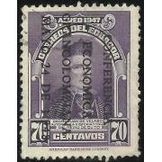 Ecuador A- 199A 1948 Aéreo Conferencia económica Padre Velasco Usado