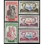 Ecuador A- 204/08 1949 4 Centenario de la Muerte de Cervantes Don Quijote MH
