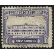 Ecuador A-219 1950 Servicio Aéreo Palacio del Gobierno de Quito MH